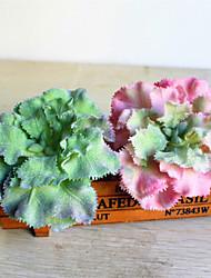 Недорогие -искусственные цветы 1 ветвь цветок королевы шляпа классический сценический реквизит деревенский суккулент настольный цветок