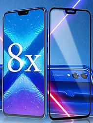 Недорогие -защитная пленка для huawei huawei honor 8x / 8x max / 7x / 8 / 8c / view 10 закаленное стекло 1 шт. передняя защитная пленка для экрана высокой четкости (hd) / 9h твердость / взрывозащищенный