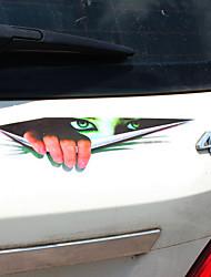 Недорогие -Черный / Зеленый Автомобильные наклейки Юмор Дверные наклейки / Наклейки с капюшоном / Наклейки для автомобилей Не указано 3D-наклейки