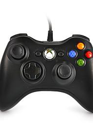 Недорогие -Duafire Проводной USB-контроллер для ПК&усилитель; Xbox 360 (черный)