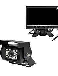 Недорогие -GALLOPVIDEO 7 дюймовый LCD-цифровой экран 480TVL 480 ТВ линий 1/4 дюйма CMOS OV7950 Проводное 120° 0 pcs 0 ° Камера заднего вида / Автомобильный реверсивный монитор