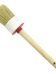Недорогие -ручка из мягкой древесины&усилитель; щетки для мытья приборной панели сиденья колеса