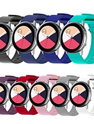 Недорогие -Спортивный силиконовый браслет ремешок для часов ремешок для часов Garmin Vivoactive 3 / Forerunner 245 м / Forerunner 645 / Vivomove Hr Smart Watch