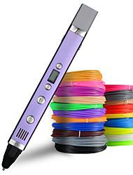Недорогие -myriwell 1.75 мм abs / pla diy 3d ручка светодиодный экран, USB зарядка 3d печать ручка творческая игрушка подарок для детей дизайн