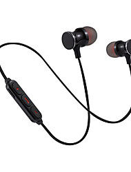 Недорогие -Беспроводная связь Bluetooth мини-магнитные наушники-вкладыши стереозвук стерео звук высокого качества с шумоподавлением наушник