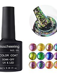 billige -Negle Polish UV Gel 1 pcs Stilfuld / Glitrende Vaske Af Langtidsholdbar Daglig / Dagligdagstøj / Festival Stilfuld / Glitrende Moderigtigt Design / Selvlysende / Farverig