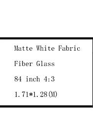 Недорогие -4:3 84 дюймовый Стекловолокно Экран с креплением на стену