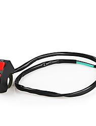 Недорогие -Переключатель светодиодных фар ремонт 22 мм Руль монтажный выключатель кнопка для мотоцикла велосипеда