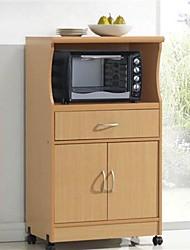 Недорогие -кухонный шкаф с колесами и ящиком из бука