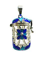 Недорогие -Жен. Кулоны Медальон Брошь Бижутерия Синий Назначение Повседневные