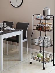 Недорогие -Высокое качество с Железо Аксессуары для шкафов Для приготовления пищи Посуда Кухня Место хранения 1 pcs