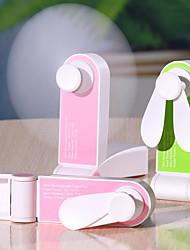 Недорогие -1 шт. USB мини зарядка карманный складной вентилятор портативный ручной маленький вентилятор творческий мелкая бытовая техника настольный вентилятор