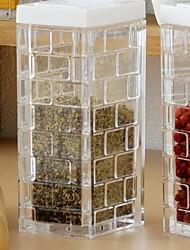 Недорогие -Высокое качество с Стекло Коробки для хранения / Бутылки и емкости для хранения Повседневное использование / Для приготовления пищи Посуда Кухня Место хранения 1 pcs