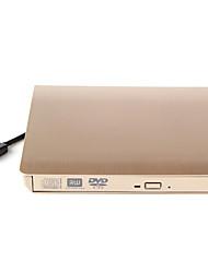 Недорогие -maikou портативный тонкий внешний dvd-rw usb3.0 внешний драйвер dvd-rw нечетное устройство для windowsxp / 2003 / vista / 7 / 8.1 / 10 linux mac10 os