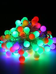 Недорогие -Loende 3xaa батарея из светодиодов глобус свет шнура 2 м 20 светодиодов на открытом воздухе украшения партии рождественский садхолдинг освещение