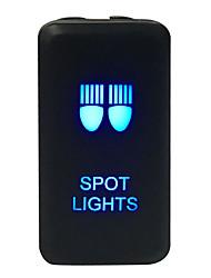 Недорогие -черный dc 12v светодиодный противотуманный свет ключ автомобиля переключатель вкл / выкл жгут проводов комплект для toyota