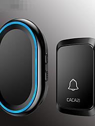 Недорогие -A80 Беспроводное Один к одному дверной звонок Дзынь-дзынь Внутренняя связь Крепеж на поверхности дверной звонок