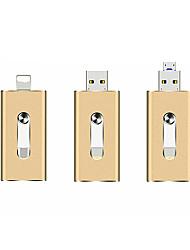 Недорогие -Litbest OTG USB флэш-накопитель применяется к Apple Android USB 3 в 1 металл и диск-32 ГБ