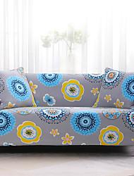 Недорогие -чехлы на диван чехлы из полиэстера с реактивной печатью / разноцветные стильные растения / в цветочек / для диванов
