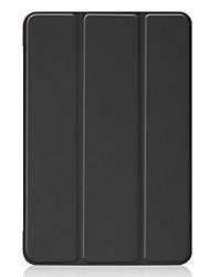 זול -מארז ל - iPod ipad מיני 5 אוטומטי לישון / להתעורר / shockproof מלא גוף המקרים מוצק צבעוני קשה pu עור עבור ipad מיני 5