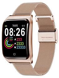 Недорогие -F9 смарт-часы Bt IP68 водонепроницаемый фитнес-трекер поддержка уведомлений и совместимый монитор сердечного ритма Apple / Samsung / Android телефонов