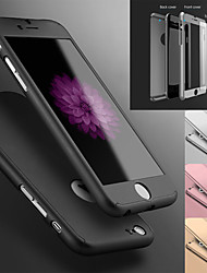 baratos -O caso protetor de 360 graus ajustou-se para a tampa dura ultra fina do iphone