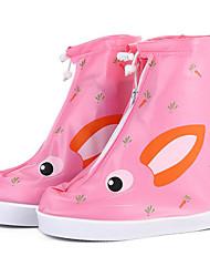 billige -Pige PVC Støvler Små børn (4-7 år) / Store børn (7 år +) Gummistøvler Beige / Blå / Lys pink Forår / Støvletter