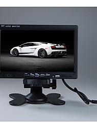 Недорогие -7 TFT LCD цветной 2 видео вход автомобильный монитор подголовник заднего вида монитор DVD DVD с пультом и подставкой&усилитель; поддержка поворота экрана