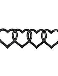 Недорогие -Черный / Серебряный с черным Автомобильные наклейки Деловые Наклейки для автомобилей Стикеры