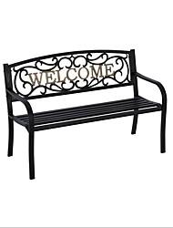 Недорогие -чугунная скамейка в парке на открытом воздухе в саду из черной бронзы