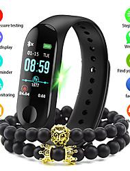 Недорогие -Муж. электронные часы Цифровой Современный Стильные силиконовый Черный / Синий / Красный 30 m Защита от влаги Bluetooth Smart Цифровой На каждый день Мода - Черный Красный Синий / Один год