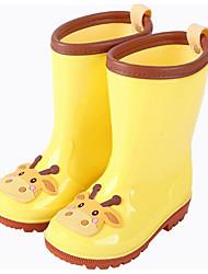 billige -Pige PVC Støvler Store børn (7 år +) Gummistøvler Grøn / Blå / Lys pink Forår / Støvletter