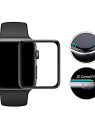 Недорогие -Защитная плёнка для экрана Назначение iWatch 42мм Закаленное стекло Зеркальная поверхность 2 штs