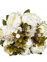 Недорогие -Свадебные цветы Букеты Свадьба / Особые случаи Ткань 41-50 cm