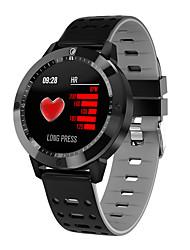 Недорогие -Умные часы cf58 ip67 водонепроницаемый закаленное стекло активность фитнес-трекер монитор сердечного ритма спорт мужчины женщины smartwatch