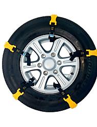 Недорогие -Автомобиль грузовик фургон зимняя шина противоскользящие цепи говяжье сухожилие противоскользящие тпу цепи