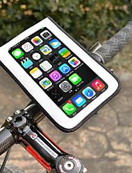 Недорогие -Wheel up Сотовый телефон сумка 6 дюймовый Водонепроницаемость Велоспорт для Велосипедный спорт Белый Горный велосипед Шоссейный велосипед На открытом воздухе