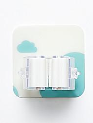ราคาถูก -เมฆเจาะฟรีที่แข็งแกร่งที่ไร้รอยต่อไม้กวาดที่แขวนห้องน้ำผู้ถือซับตะขอ