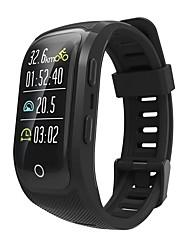 Недорогие -MS08 умные часы водонепроницаемый цветной экран смарт-браслет активность фитнес-трекер спорт GPS монитор сердечного ритма умный браслет