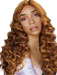 halpa -Aitohiusperuukit verkolla Kinky Straight Tyyli Keskiosa Suojuksettomat Peruukki Kulta Blonde Synteettiset hiukset 26 inch Naisten Naisten Kulta Peruukki Pitkä Luonnollinen peruukki