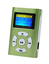 Недорогие -usb mini mp3 музыкальный проигрыватель поддержка жк-экрана 32 ГБ micro sd tf карта спортивная мода 2019 новый стиль rechargeab
