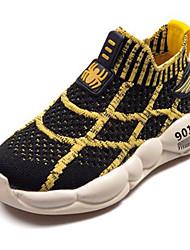 ราคาถูก -เด็กผู้ชาย Synthetics รองเท้าผ้าใบ เด็กน้อย (4-7ys) / Big Kids (7 ปี +) ความสะดวกสบาย สีดำ / สีเหลือง / แดง ฤดูใบไม้ผลิ / ตก