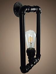 Недорогие -труба Ретро Кабинет / Офис / кафе Металл настенный светильник 110-120Вольт / 220-240Вольт 4 W