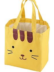 """Недорогие -Ткань """"Оксфорд"""" С отверстиями Коробка для ланча Повседневные Желтый / Бледно-синий / Розовый"""