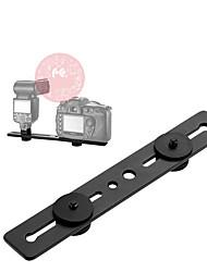 Недорогие -соколиный глаз камера вспышка кронштейн свет крепление подставка держатель с двумя башмаками для универсальной вспышки фотостудия аксессуары tmb- 30d