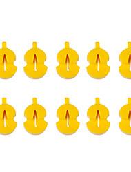Недорогие -профессиональный Аксессуары для скрипки / Инструменты VT0908-219 Скрипка Натуральная резина Аксессуары для музыкальных инструментов 2.7*0.7*1.8 cm
