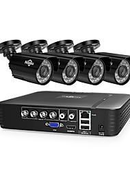 Недорогие -4h 720p камера 1.0-мегапиксельная видеокамера с жестким диском DVR DVR