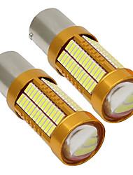 Недорогие -2pcs 1156 Автомобиль Лампы 15 W SMD 4014 900 lm 106 Светодиодная лампа Лампа поворотного сигнала / Тормозные огни / Фонари заднего хода (резервные) Назначение Универсальный Все года