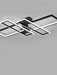 Недорогие -простая и элегантная 4-х головная прямоугольная люстра для гостиной