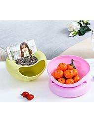 رخيصةأون -جودة عالية مع البلاستيك تخزين المواد الغذائية للبيت / Everyday Use / متعددة الوظائف مطبخ تخزين 1 pcs